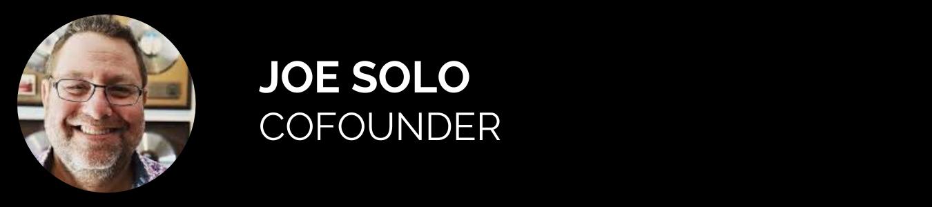 Joe Solo - Cofounder